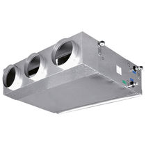 Recessed fan coil / duct