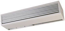 Ceiling-mounted air curtain / commercial