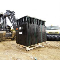 In-ground stormwater management module