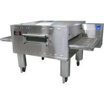 Gas oven / commercial / conveyor / pizza