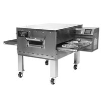 Gas oven / commercial / pizza / conveyor