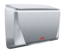Automatic hand dryer / wall-mounted / stainless steel / handicapped