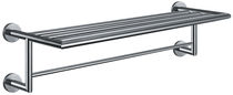 More than 3 bars towel rack / wall-mounted / stainless steel