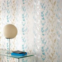 Traditional wallpaper / floral / washable / non-woven