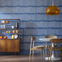 Contemporary wallpaper / geometric / patterned