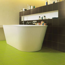 Indoor tile / bathroom / floor / ceramic