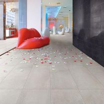 Porcelain stoneware flooring / residential / tile / smooth