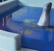 Pool mosaic tile / floor / wall / glass