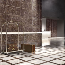 Marble look tile / indoor / wall / for floors