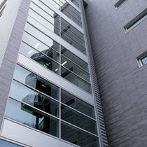 Porcelain stoneware ventilated facade