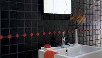 Bathroom tile / indoor / wall-mounted / porcelain stoneware