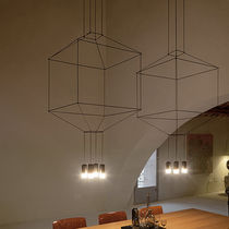 Pendant lamp / original design / glass / dimmable