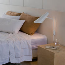 Contemporary wall light / polycarbonate / LED / fluorescent