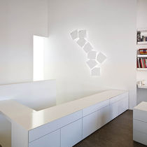 Contemporary wall light / outdoor / polycarbonate / LED