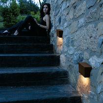 Contemporary wall light / outdoor / aluminum / methacrylate