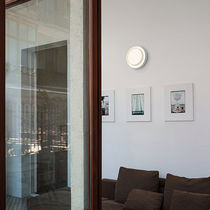 Contemporary wall light / steel / methacrylate / ABS