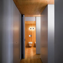 Contemporary wall light / bathroom / polycarbonate / LED