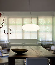 Pendant lamp / contemporary / blown glass / Murano glass