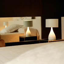 Table lamp / contemporary / aluminum / polyurethane