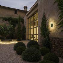 Contemporary wall light / outdoor / aluminum / steel