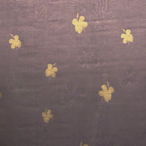 Upholstery fabric / floral pattern / linen / silk