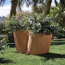 Fiberglass planter / residential / other shapes / contemporary
