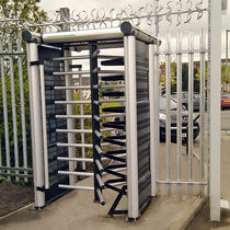Full-height turnstile / aluminum / for access control / for public areas