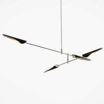 Pendant lamp / contemporary / aluminum / adjustable