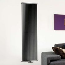 Hot water radiator / metal / contemporary / wall-mounted