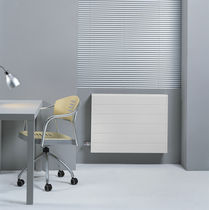 Electric radiator / low-temperature / metal / contemporary