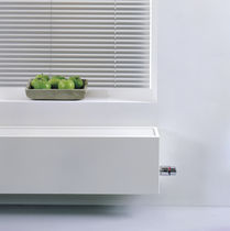 Low-temperature radiator / metal / contemporary / wall-mounted