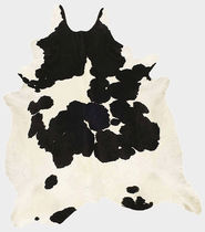 Contemporary rug / patterned / cowhide / rectangular