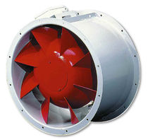 Smoke extractor fan / duct / commercial / metal