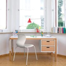 Wooden desk / contemporary / child's / with storage