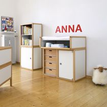 Wooden changing table / nursery