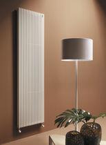Hot water radiator / steel / contemporary / horizontal