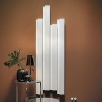 Hot water radiator / electric / aluminum / original design