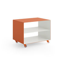 Metal service trolley / for offices