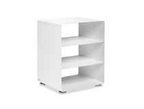 Contemporary shelf / metal / for offices