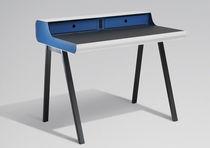 Contemporary secretary desk / metal