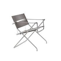 Bauhaus design chair / folding / with armrests / fabric