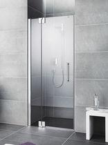 Swing shower screen / for alcoves / corner