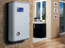 Electric boiler / wall-mounted / residential / with water heater