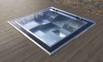 Built-in hot tub / square / 4-seater