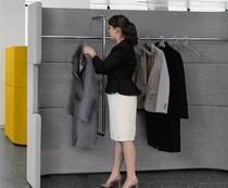 Floor coat rack / contemporary / steel / commercial