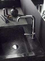 Washbasin mixer tap / brass / bathroom / 1-hole