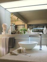 Washbasin mixer tap / chrome-plated brass / bathroom / 1-hole