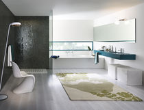 Recessed wall shower set / wall-mounted / contemporary / with hand shower