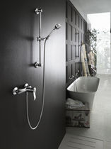 Recessed wall shower set / contemporary / traditional / with hand shower