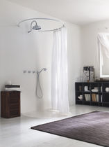 Recessed wall shower set / traditional / with hand shower / with fixed shower head